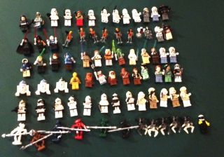 Huge Lego Star Wars Lego Bionicle and Lego City Collection
