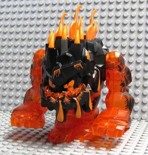 New Lego Power Miners Orange Rock Monster Eruptorr 8191