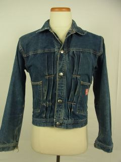 Vintage 101 Montgomery Ward Denim Jean Jacket 40 42