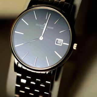 Jacques LeMans Swiss Made Mens Dress Watch Very Sharp