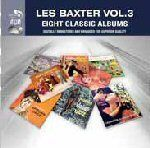 Les Baxter EIGHT CLASSIC ALBUMS VOL. 3 New Sealed 96 Tracks 4 CD BOX