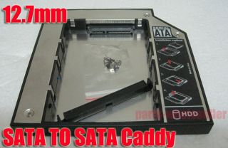 SATA 2nd HDD HD Hard Driver Caddy for 12.7mm Universal CD / DVD ROM