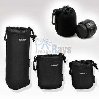 Waterproof Camera Lens Pouch Bag Case L M s 3 Pcs US Seller