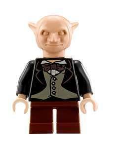 LEGO Harry Potter 10217 Diagon Alley GOBLIN MINIFIGURE #1 brown pants