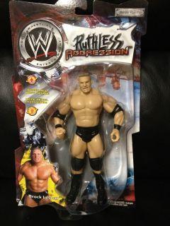 WWF WWE Jakks Brock Lesnar Ruthless Aggression Action Figure 2002 New