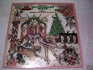 Leopold Stokowski Nutcracker Suite LP Record NRMINT