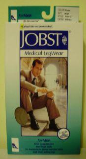 Jobst Medical Legwear for Men Knee High Socks