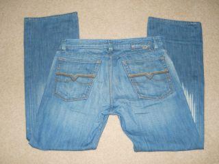 Diesel Levan 881 Low Rise Straight Leg Jeans 32 31