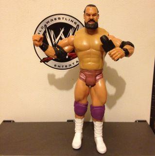 Wwe Damien Sandow Action Figure Custom Mic Mattel Jakks Wwf Rare Vhtf