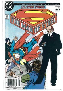 1986 Superman Man of Steel No 4 Lex Luthor Strikes