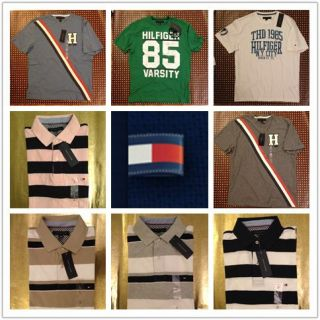 "Tommy Hilfiger Men's Polo and T Shirt ""Pick Up Your Favor"""
