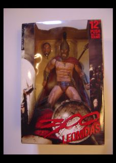 Leonidas from 300 12 Talking NECA Figure Gerard Butler Reel Toys
