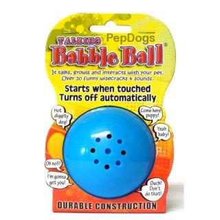 Pet Qwerks Talking Babble Ball Dog Cat Bird Puppy Toy