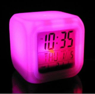 Cute Lighted LED Hello Kitty Digital Clock