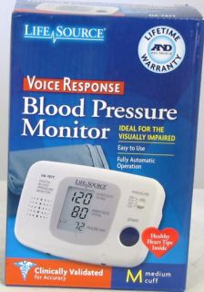 Used LifeSource Blood Pressure Monitor UA 767T Medium