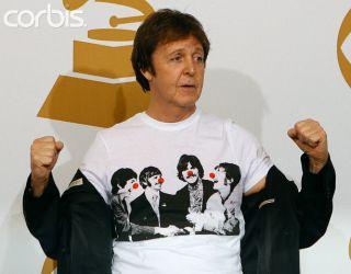 Stella Linda McCartney Beatles Promo Shirt Paul Wings Comic Relief
