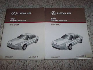 1994 Lexus ES300 ES 300 Shop Service Repair Manual Set