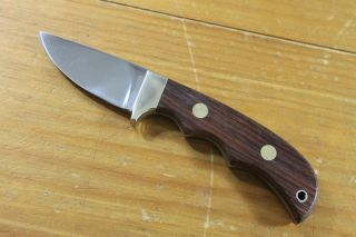 Linder Messer Solingen Germany Full Tang Fixed Blade Skinning Knife