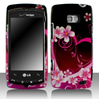 LG Ally VS740 Faceplate Snap on Phone Cover Hard Case