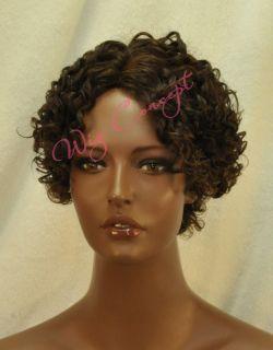 Soul Tress Short Curly 100 Human Hair Wig H Lina