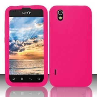 For Alltel LG Ignite Rubber Silicone Skin Soft Gel Case Phone Cover