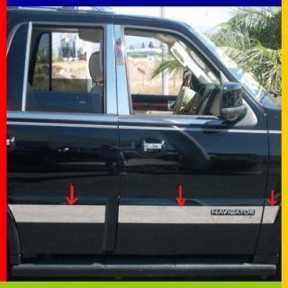 03 06 Lincoln Navigator Rocker Panel Molding Trim 8PC