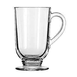 Libbey 5304 10 5 oz Irish Glass Coffee Mug Set of 12