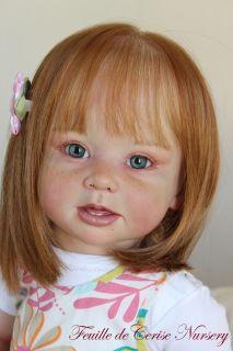 Cerise Nursery Reborn Baby Toddler Kit Bonnie Linda Murray Doll