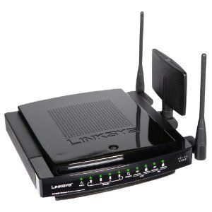 LINKSYS WRT600N DUAL BAND GIGABIT ROUTER DD WRT MEGA WIFI A B G N