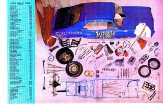 Racing Chevrolet Chevy II Nova Jungle Jim Lieberman Funny Car