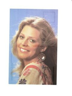 Lindsay Wagner Signed on Back of Post Card