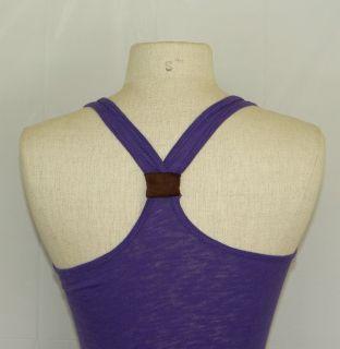 Womens Juniors New Basic T Back Tank Top Burn Out Sleeveless Shirt 12