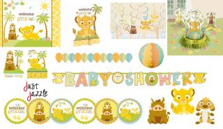 Lion King Baby Shower Party Supplies You Pick Invite Balloons Decor