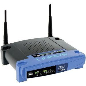 Linksys Wireless G Broad Band Internet Router Home Office Network