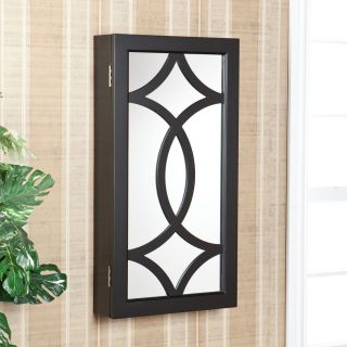 Charlot Wall Mount Jewelry Mirror Armoire OS3848