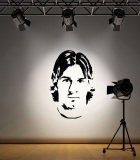Lionel Messi Football Barcelona Wall Art Sticker F052