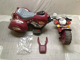 Lil Rider Maroon Marauder Motorcycle Three Wheeler