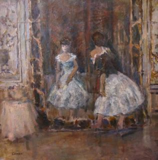 Marcel Cosson 1878 1956 French Impressionist Oil to $45 000 Dancers