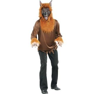 Little Red Riding Hood Wolf Halloween Costume Mens 2XL 44 46 Werewolf