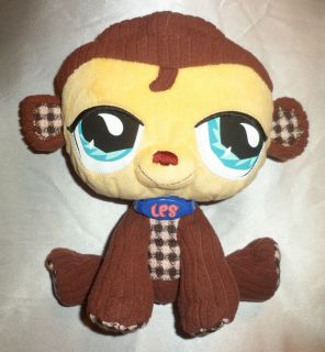 Adorable Littlest Pet Shop Monkey 7 Plush Stuffed Animal Great