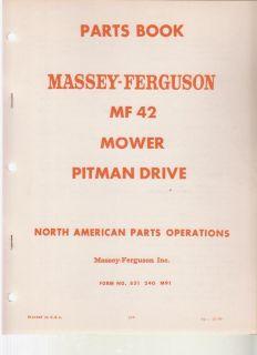 Massey Ferguson Mf 254 Rotary Tiller Parts Catalog Book