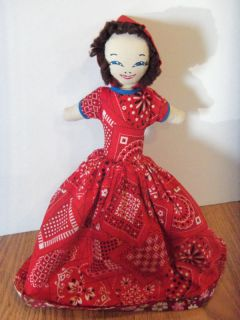Vintage Flip Doll Vintage Little Red Riding Hood Doll