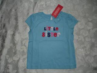 Girls Gymboree New York Girl Little Sister Shirt 3T