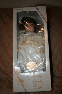Gorham Porcelain Bride Doll Elizabeth Musical Plays I Love You Truly