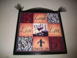 Live Laugh Love~Wall Sign