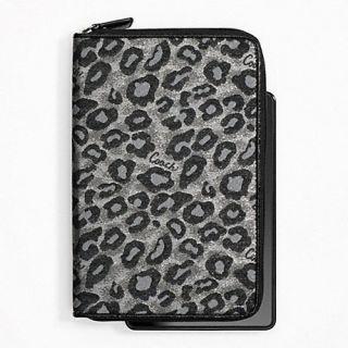 Coach Ocelot E Reader Cover Kindle Case etc 62906 Authentic Brand New