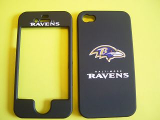 Baltimore Ravens iPhone 4 4G 4S Cell Phone Faceplate Case Cover Snap
