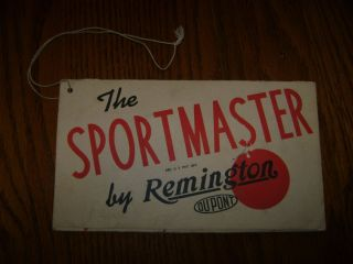 Remington Sportsmaster Rifle Model 512 Owners Instruction Manual