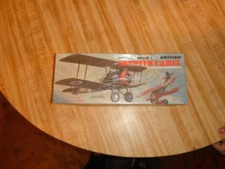 Vintage World War 1 Model Plane Sopwith Camel