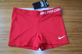 Womens Nike Pro Combat Compression Fit Running Shorts M Dri Fit